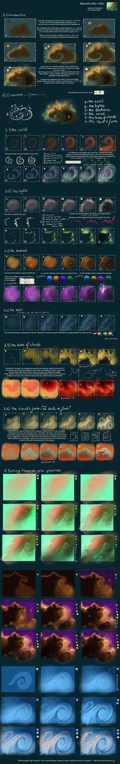 Tutorial 8 Beneath other skies by `AquaSixio on deviantART