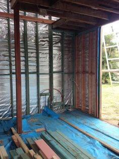 The external laundry is framed up. House Lift, Queenslander, Laundry, Room, Home Decor, Laundry Room, Bedroom, Decoration Home, Laundry Service