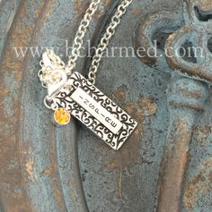 """How do you tell the one you entrusted your child to this year how much you appreciate her?  Show her how important she was with our beautiful """"Inspire"""" charm to celebrate another year of learning."""