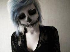 skeleton makeup | Tumblr
