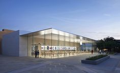 Stanford Apple Store / Bohlin Cywinksi Jackson | ArchDaily