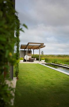 Natural Eco friendly pool on an Eco Farm Estate. Glass Structure, Nature View, Pool Houses, Sustainable Living, Water Features, Modern Architecture, Sustainability, Fields, Eco Friendly