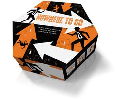 Nowhere to Go : a new board game @ mid-century modern style by mattsoncreative