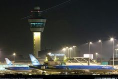 Beutifull Schiphol in the evening..