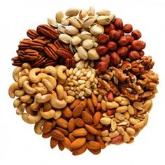 Five Healthy Nuts.  What can they do for me? #plantogram #health #healthfood