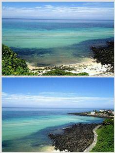 '파라다이스' 작지만 예쁜 해면, 10명 이내로 해수욕을 즐길 수 있는 모래사장 #카톡 김성태 님