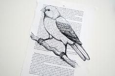 *Decoração e Invenção*: Como imprimir na folha de livro
