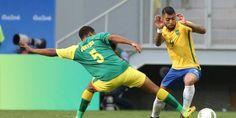 Brasil fica no 0 a 0 com a África do Sul na estreia