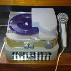 Pack Rat: Gray Audograph - record graving dictating machine from around 1945