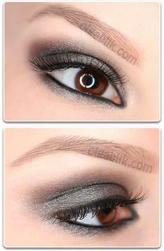 Makeup Tutorial Smokey eyes