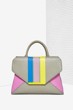 Chroma Striped Envelope Bag - Accessories | Bags + Backpacks