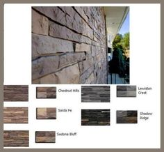 Premium Stacked Stone Mobile Home Skirting Shipped Direct. Maybe we will use this over the parging on our house