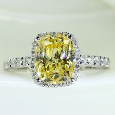 Fashion Jewelry Brand Style Gold Gem 5A Zircon stone 925 Sterling silver Wedding Finger Ring Sz 5-10 Gift Free shipping