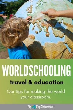 Worldschooling: how to make the world your classroom. Worldschooling is an amazing way to educate your kids while traveling. In this post we'll give you lots of ideas and tips for worldschooling your kids. Camping Games Kids, Camping With Kids, Travel With Kids, Family Travel, Family Trips, Family Adventure, Adventure Travel, Adventure Time, Bubbline
