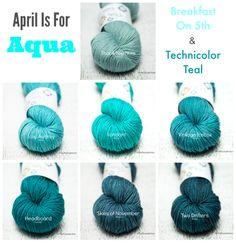 April is for Aqua