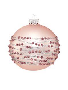 Andrey Filatov - Glitter Embellished Glass Ball Ornament