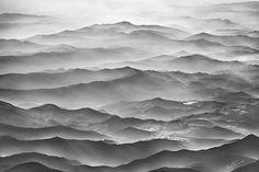 Ocean Mountains By Ben Heine Canvas Print #BHE86