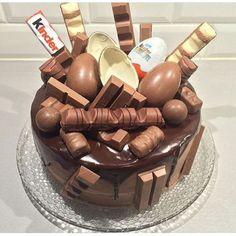 Beste Rezeptesammlung: Kinderschokolade-Torte