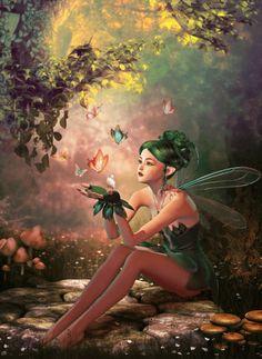 Fairy Woods app