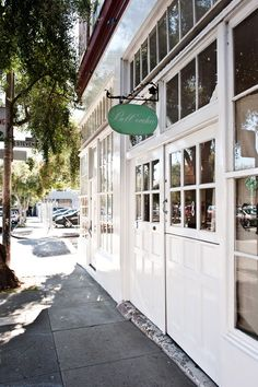 Bell'occhio in SF. I love this place the outside of the store sets the scene for the inside. Classically and consistently styled throughout. Shop House Plans, Shop Plans, Design Process, Tool Design, Paris France, Shop Front Design, Design Shop, San Francisco, Sign Board Design