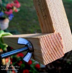 DIY Project Wood Scrap Scarecrow ~ My Garden Maiden – Our Fairfield Home & Garden Scarecrows For Garden, Fall Scarecrows, Outdoor Crafts, Outdoor Stuff, Garden Crafts, Garden Art, Make A Scarecrow, Next Garden, Wood Scraps