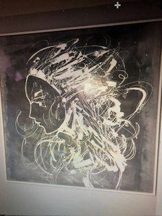 Grey/white Wakk Art
