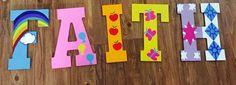 My little pony wooden letters #bwinkcrafts