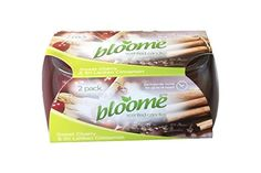 very good candles  Bloome Scented Candles (Sweet Cherry and Sri Lankan Cinnamon) Twin Pack