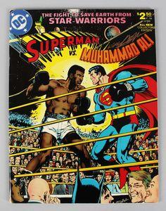 Superman vs. Muhammad Ali Comic Artist Neal Adams Signed DC Comic Book – JSA Full LOA