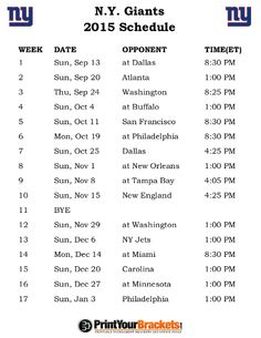 photo regarding Ny Giants Printable Schedule referred to as 8 Suitable Contemporary York Giants Agenda photographs inside of 2014 Refreshing york