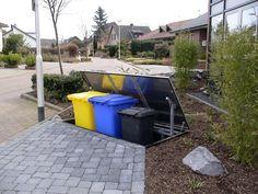 Mülltonnen müssen sein, sind aber nicht hübsch anzusehen. Wir haben eine faszinierende Möglichkeit gefunden, hässliche Mülltonnen zu verstecken.