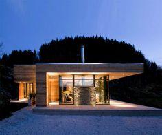 Moderná chata na nórsky spôsob