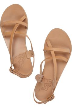 bfffce820116 Ancient Greek Sandals - Myrtis leather sandals