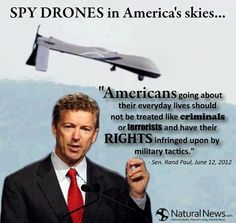 What drone should you buy if you have never had one before? This article looks at quadcopter and drone for sale suited for first-time flyers. Sen Rand Paul, Spy Drone, Police, Military Tactics, Natural News, Interesting Conversation