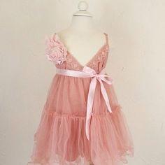 5/6T TEA ROSE DRESS