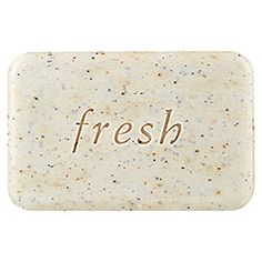 Fresh - Seaberry Exfoliating Soap, love the oil too!