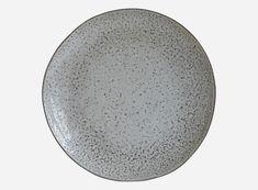 JULLE & KRILLE - Hc0800 / House Doctor tallerkner d: 27,5 cm, grå/blå. 6 stk