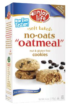 no-oats oatmeal cookies from enjoy life. Has cain sugar tho
