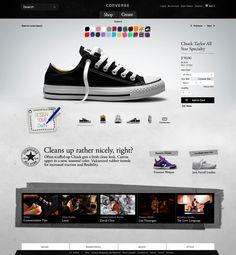 Converse: design your own chuck! #customized #configurator