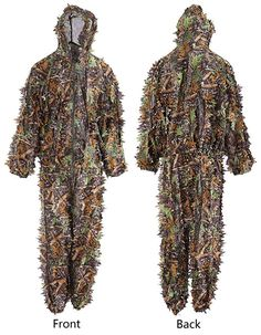 Annay Ghillie Suits Camo Suit Maple Leaves Camouflage Clothing Woodland Army Clothes Sniper Costume Jungle Jacket & Pants for Hunting Shooting Wildlife Photography Airsoft Military Game Medium Hunting Rain Gear, Hunting Clothes, Camouflage Clothing, Hunting Camouflage, Camo Suit, Army Clothes, Maple Leaves, Wildlife Photography, Airsoft