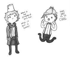 Totally how it would happen. Unless Sherlock decided to give the complete history of the hat and whatever culture it came from.
