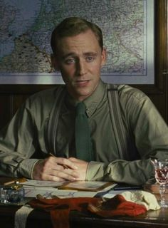 Tom Hiddleston as Captain Nicholls in War Horse. I would marry him (Nicholls). Such a good man, I absolutely loved him!