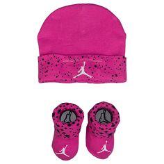 Jordan Cement Print Hat   Bootie Set - Girls  Infant at Kids Foot Locker 567171a35