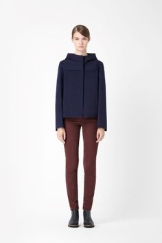 COS Hooded cropped jacket