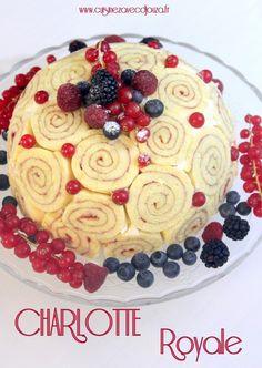 Royal Cake Recipes, Royal Cakes, Charlotte Dessert, Charlotte Cake, British Baking Show Recipes, Baking Recipes, Charlotte Royale Recipe, Other Recipes, Sweet Recipes