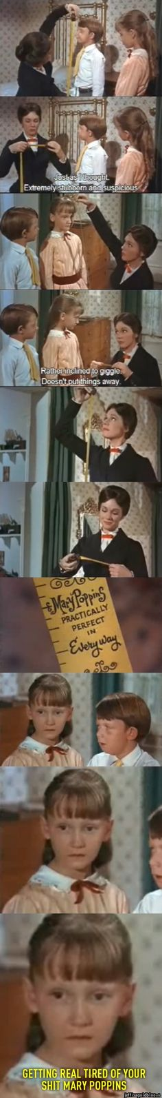 Mary Poppins, trolling children since 1964
