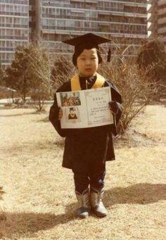 Haha childhood's pic. #HaDongHoon #runningman