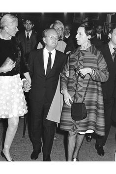 C.Z. Guest, Truman Capote, and Diana Vreeland. Photo by Ron Galella, 1968.