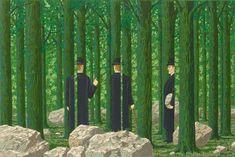 Rene Magritte: Les enfants trouves.