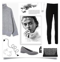 """""""Sweater Weather (TFS 9/9/17)"""" by freida-adams ❤ liked on Polyvore featuring Bomedo, Elie Tahari, Skechers, Ana Accessories and INIKA"""
